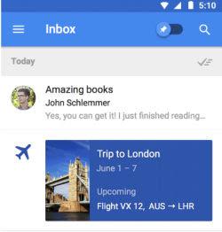 posta gmail con inbox