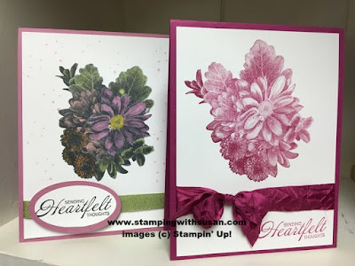 Stampin' Up Heartfelt Blooms Stampin' Blends