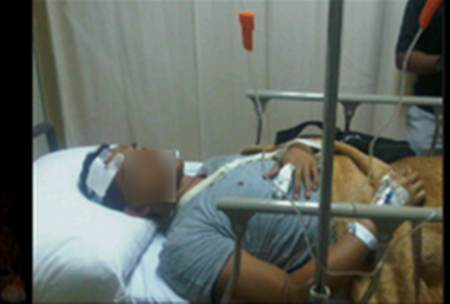 8 kali satu hari,isteri tak tahan pukul suami hingga pengsan|Seorang suami Mohd Anif 35 tahun menjadi mangsa keganasan isteri Terpaksa di larikan kehospital karena mengalami kecederaan teruk di bagian kepala selepas di pukul dengan tangkai sapu.