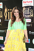 Sridevi Telugu Actressi in green Yellow Anarkali Dress at IIFA Utsavam Awards 027.JPG