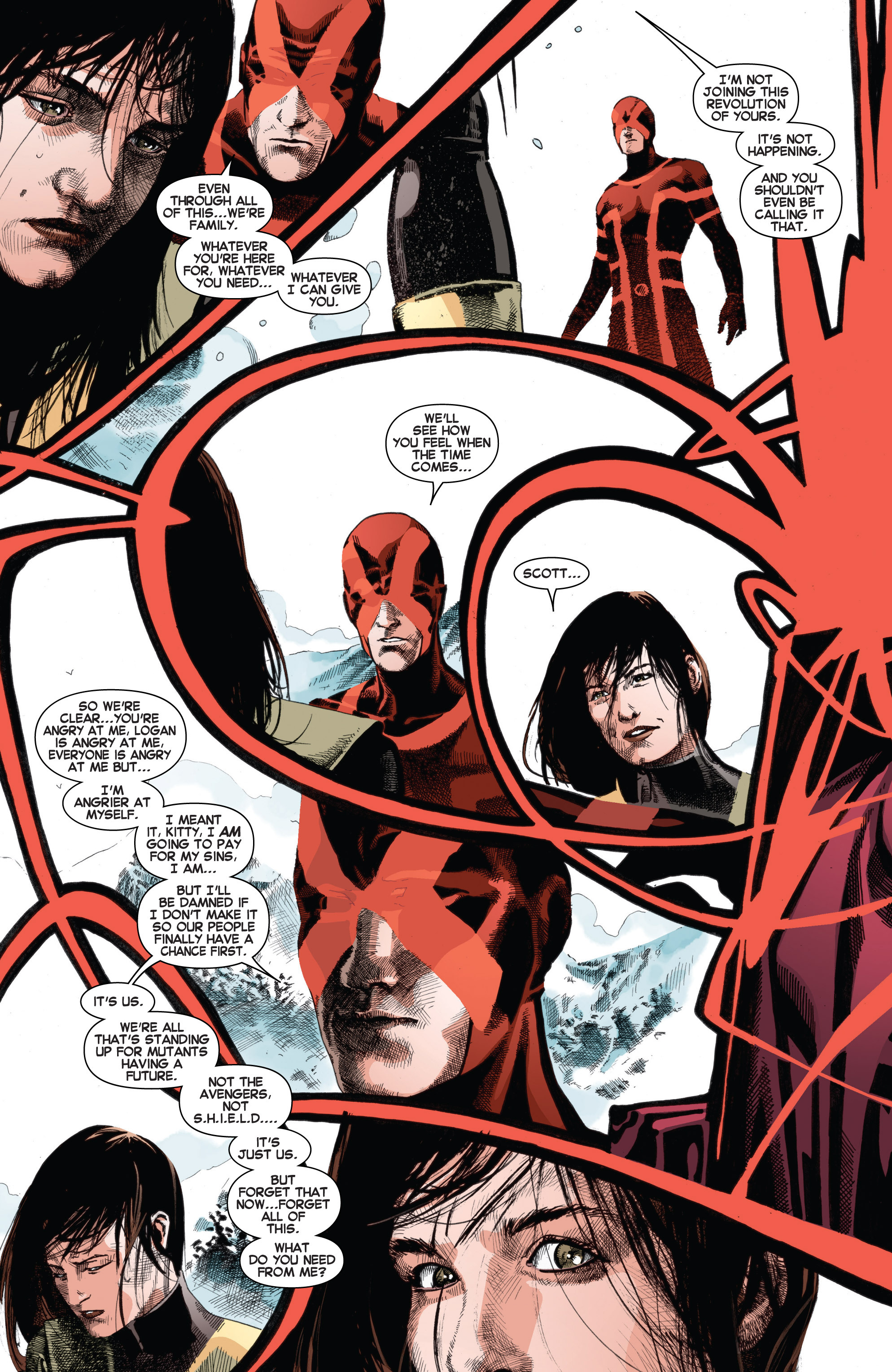 Read online Uncanny X-Men (2013) comic -  Issue # _TPB 3 - The Good, The Bad, The Inhuman - 96
