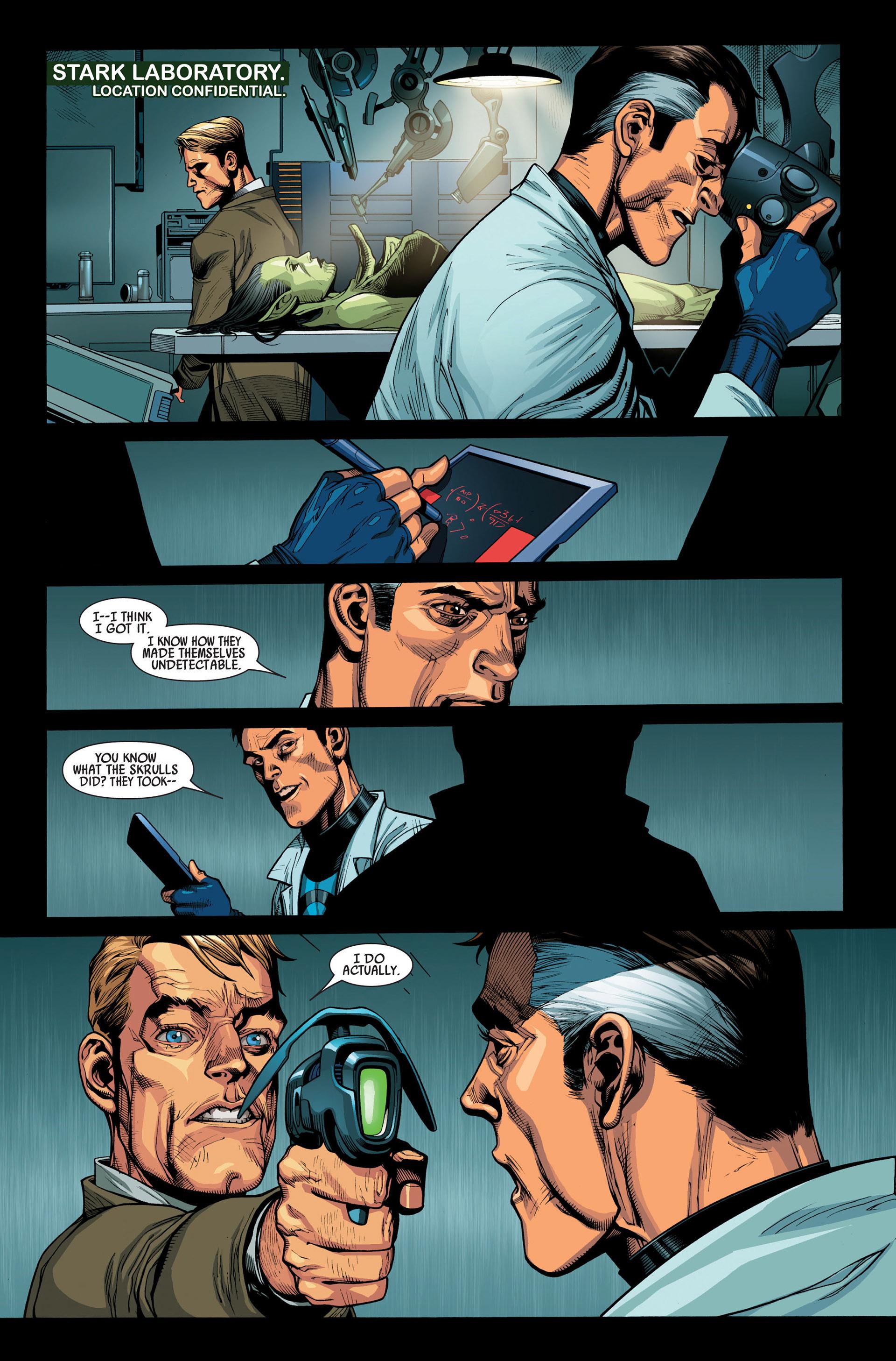 Read online Secret Invasion comic -  Issue #1 - 35