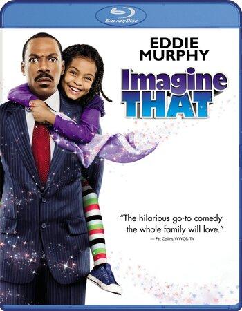 Imagine That (2009) Dual Audio Hindi 720p BluRay x264 1.1GB ESubs