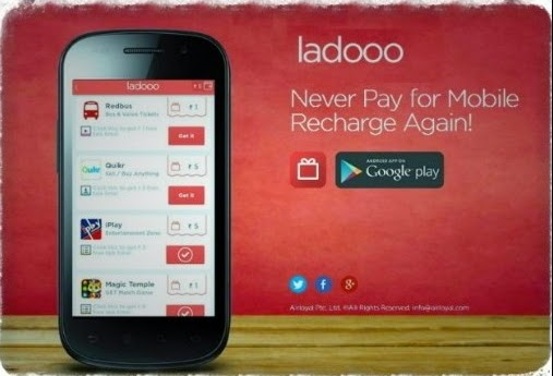 Ladooo App : Unlimited Free Recharge Refer And Earn Trick
