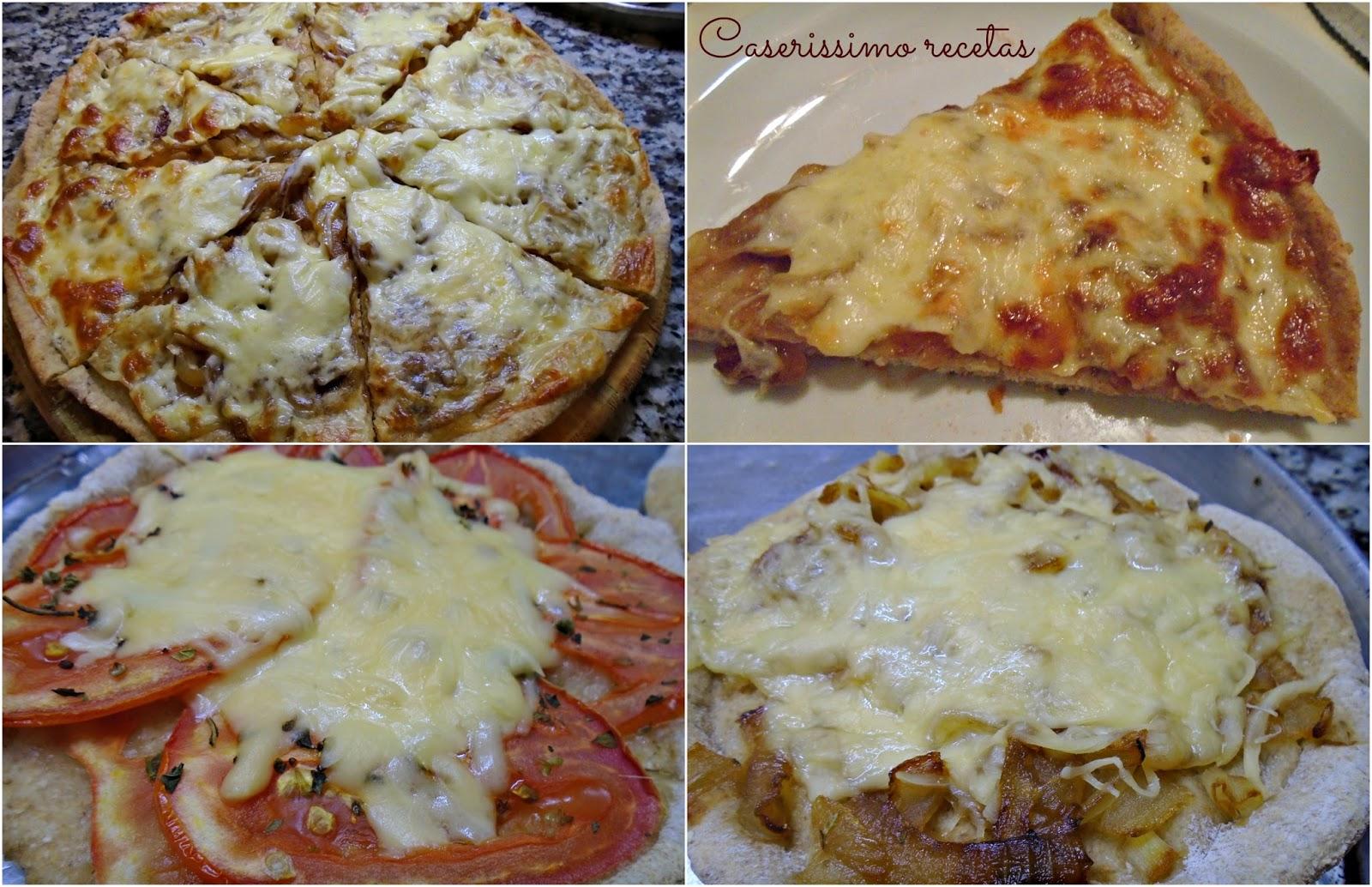 Pizza Light De Harina Integral Solo De 130 A 230 Kcal Por Porcion