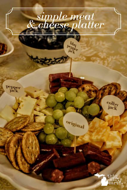 Simple Meat & Cheese Platter