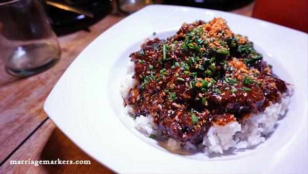 Bok's Restobar - Mongolian beef - Bacolod restaurants