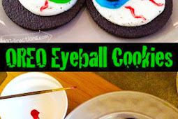 Halloween OREO Cookie Eyeballs Recipe