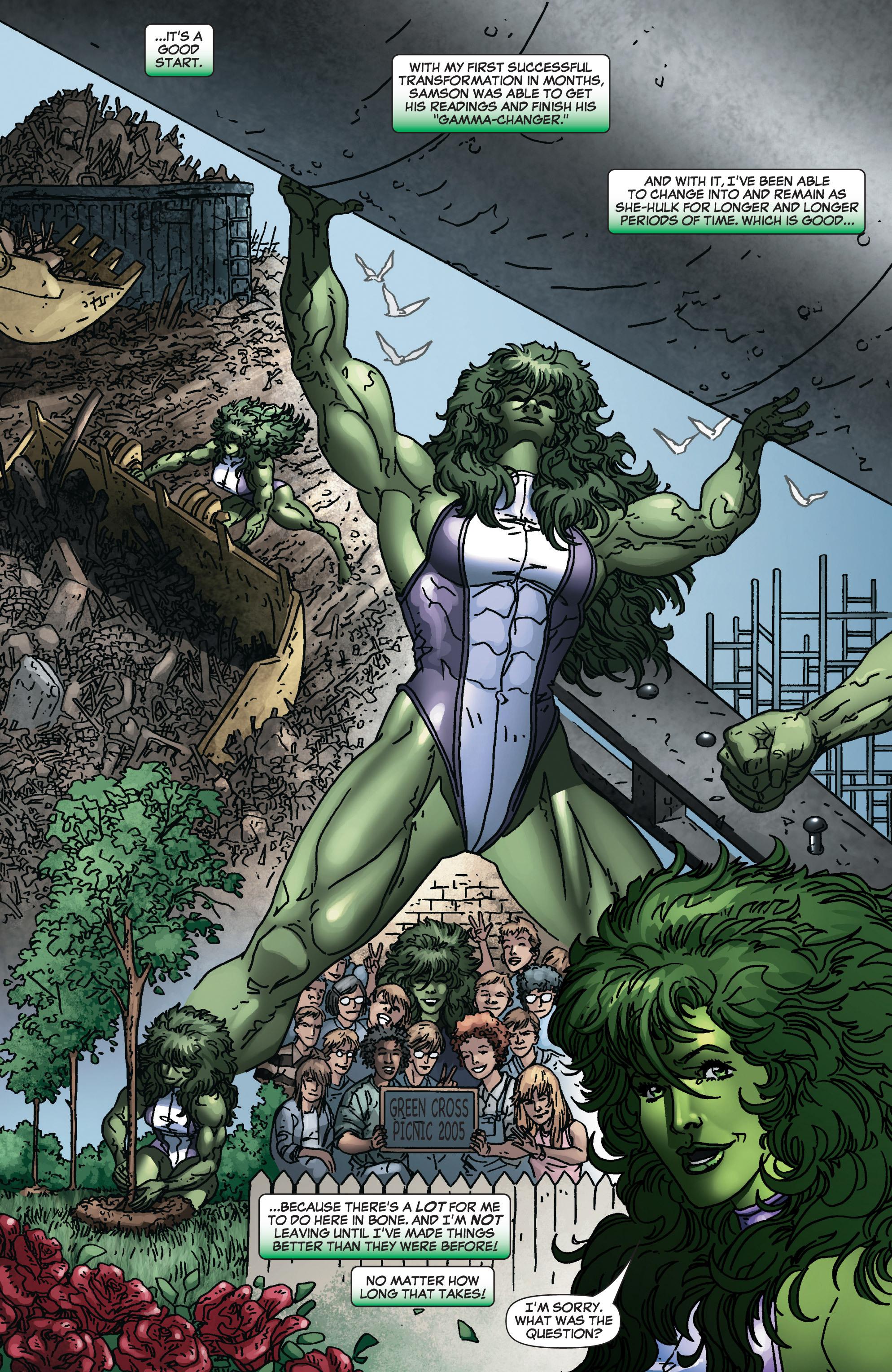 Read online She-Hulk (2005) comic -  Issue #4 - 22