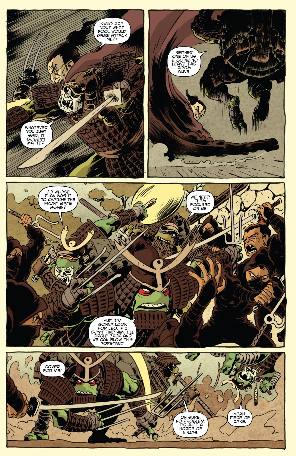 Read online Teenage Mutant Ninja Turtles: The IDW Collection comic -  Issue # TPB 5 (Part 1) - 46