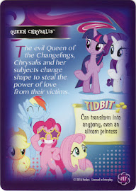 My Little Pony Queen Chrysalis Equestrian Friends Trading Card