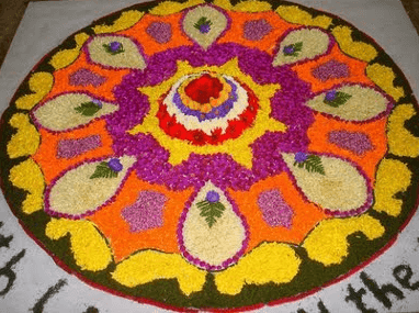 onam pookalam pictures theme