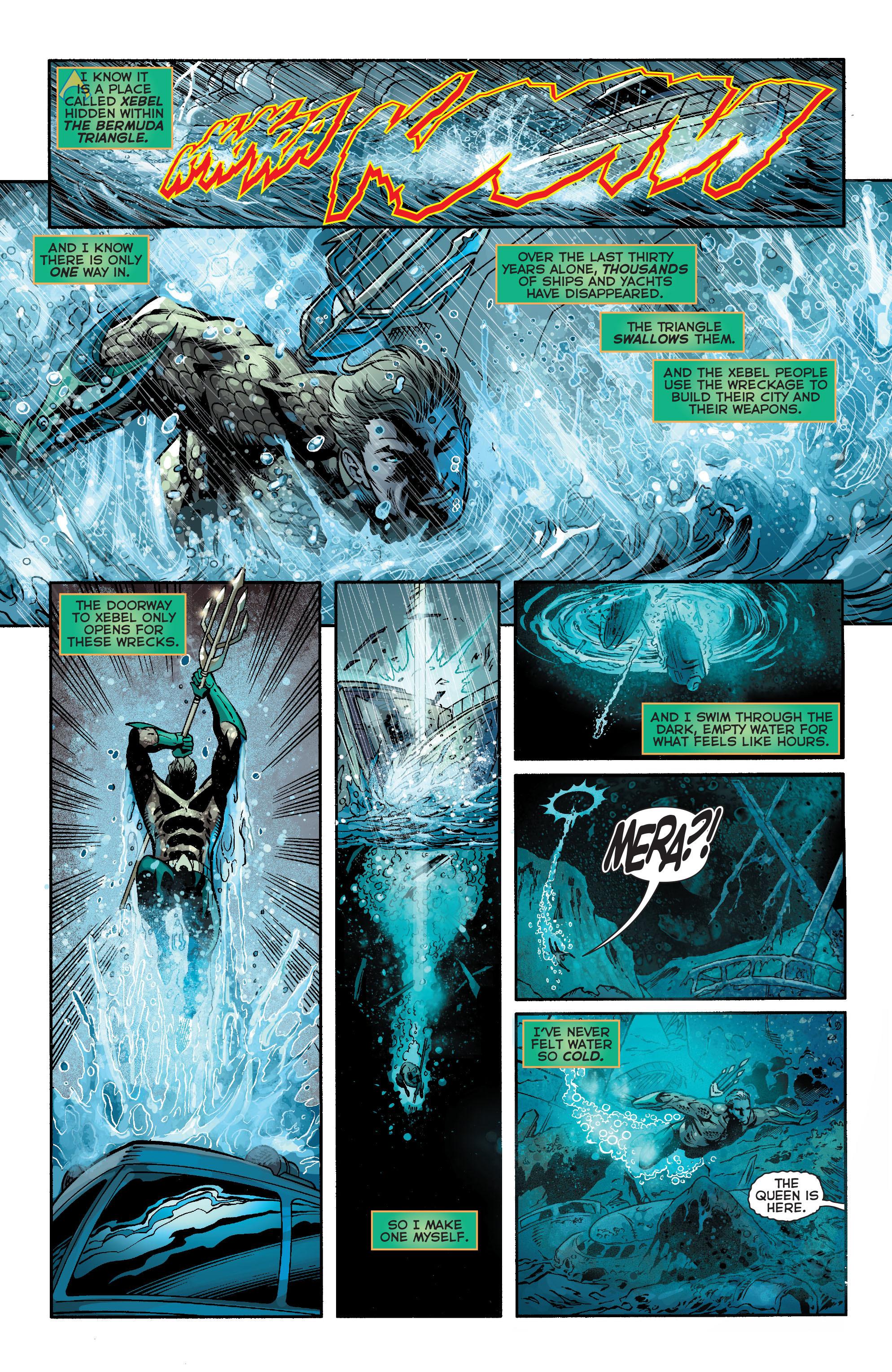 Read online Aquaman (2011) comic -  Issue #21 - 17