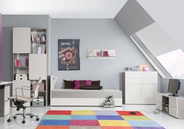Emejing Deco Chambre Moderne Ado Pictures - Design Trends 2017 ...