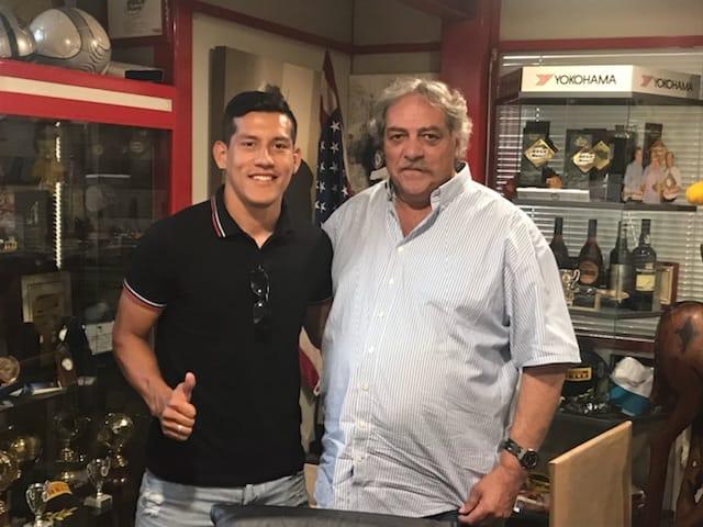 Rojas começou a pré-época no Gil mas é no Gondomar que vai jogar
