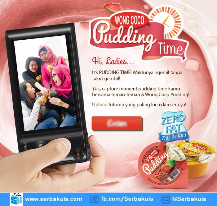 Kontes Foto Pudding Time Berhadiah Voucher MAP 10 Juta