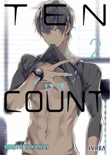 """Reseña de """"Ten Count #2"""" de Takarai Rihito - Ivrea"""