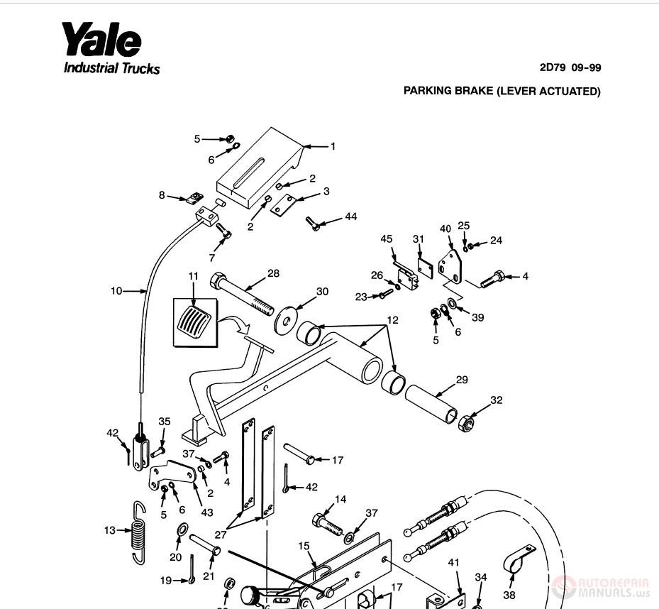 FreeAutoEpcService: Yale Forklift Full Set Manual DVD Full