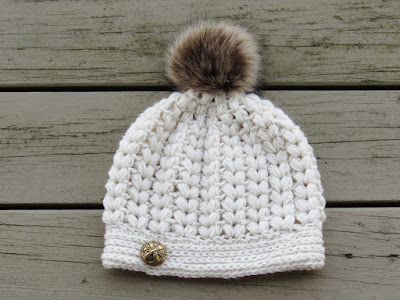 How to Crochet a Puff Stitch Hat