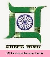 JSSC Panchayat Secretary Results
