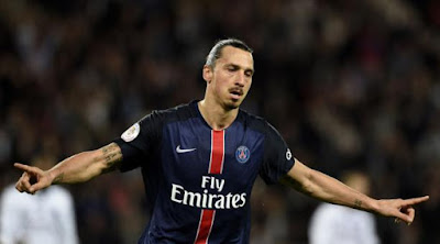 Delantero Zlatan Ibrahimovic