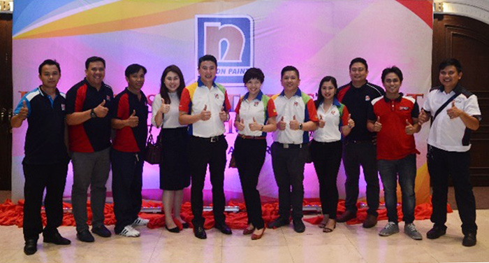 Nippon Paint Sales and Marketing Team.
