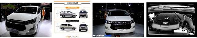 Toyota Innova Price List 2016