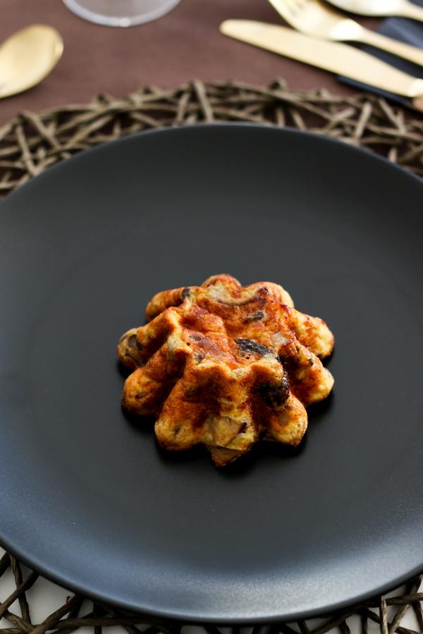 Herbst Dinner, Menü, Fleurcoquet, Pilz-Quiche, Café et le Dîner