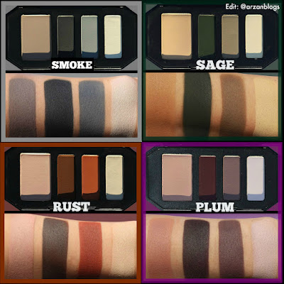 Beauty Kat Von D Shade Light Color Contour Mini Quads