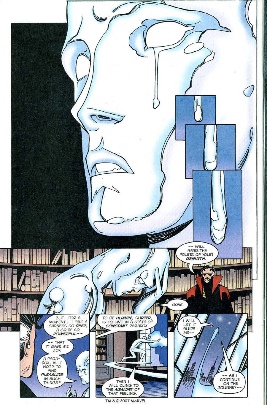 Read online Silver Surfer (1987) comic -  Issue #126 - 32