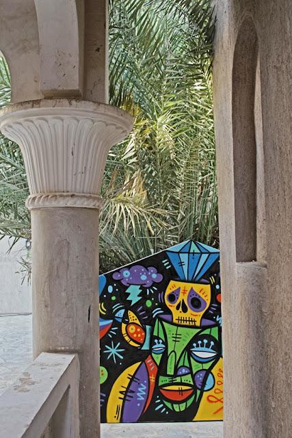 Street Art By Ruben Sanchez In the Al Bastakiya district of Dubai, United Arab Emirates.  8