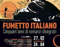 Cinquant'anni di romanzi disegnati: mostra del fumetto italiano dal 27 febbraio al 24 aprile 2016 al Museo di Roma Intrastevere