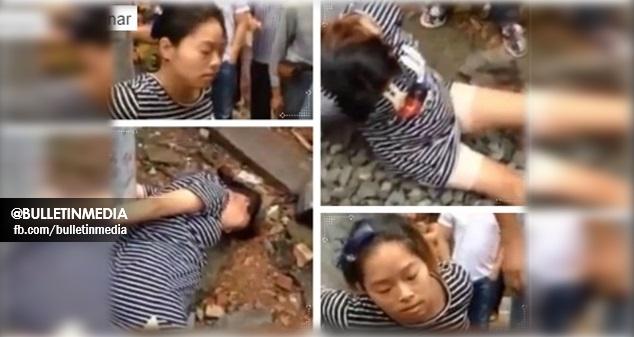 Wanita Sarat Mengandung Diikat, Disepak Terajang Dan Direjam Batu Walaupun Sudah Pulangkan Wang Yang Dicuri..