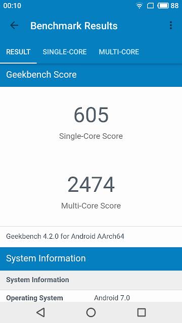 benchmark meizu m6
