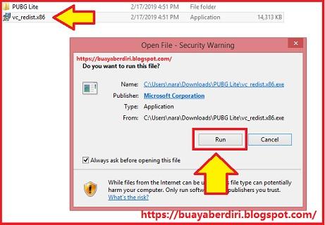 Cara Install Microsoft Visual C++ untuk PUBG Lite