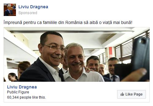 Familiile Ponta și Dragnea