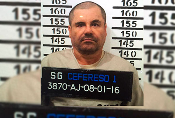 Niegan amparo al 'Chapo' por su primera fuga