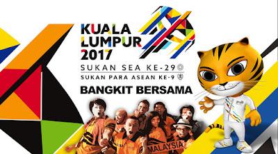 Kedudukan Pungutan Pingat Sukan SEA 2017 Kuala Pumpur