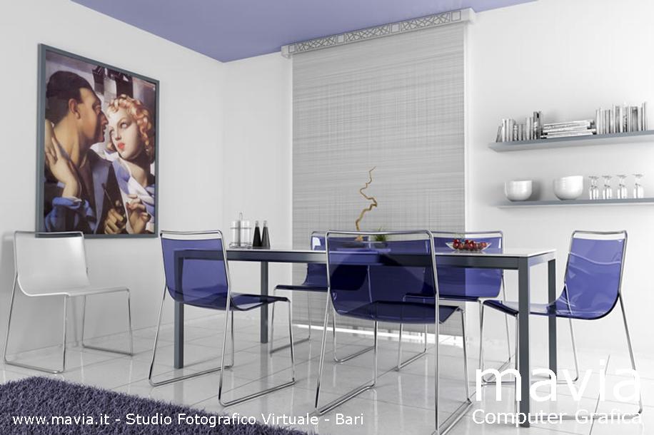 Arredamento di interni dining room immagini fotografiche for Sedie moderne sala da pranzo