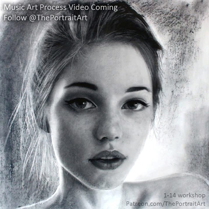 14-Female-Portrait-Xiaonan-Pencil-Charcoal-and-Pastel-Portrait-Drawings-www-designstack-co