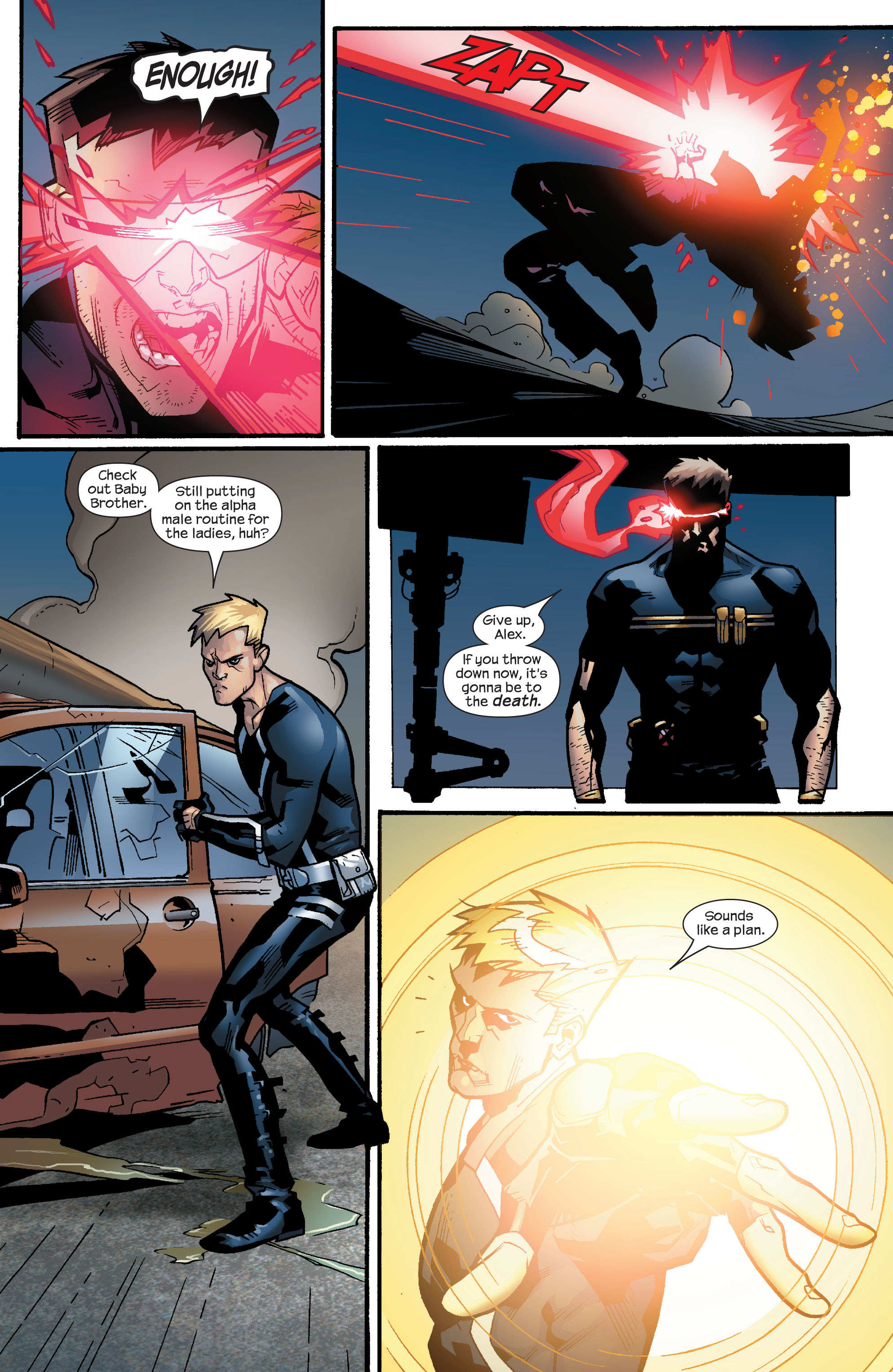 Read online Ultimate X-Men comic -  Issue #63 - 15