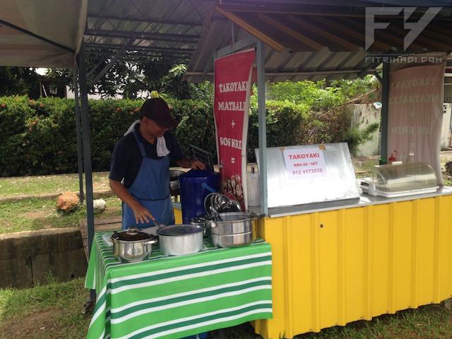 Review Takoyaki Meatball Sedap di Perlis