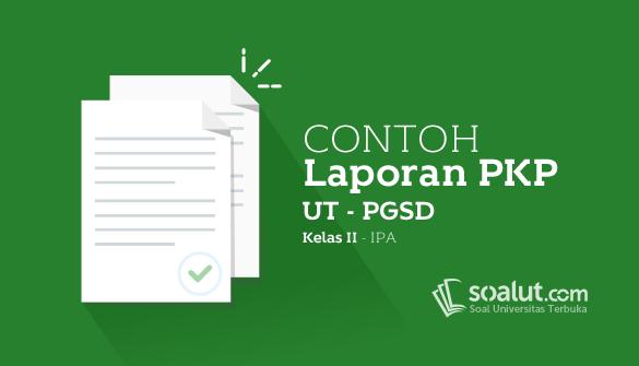 Contoh Laporan PKP UT PGSD Kelas II Mata Pelajaran IPA