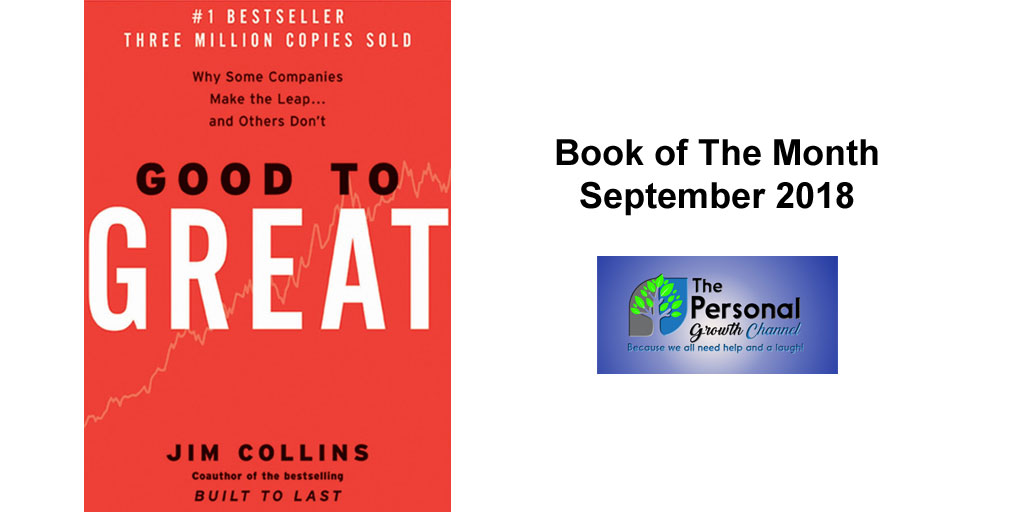 Personal Development Book Club - Good to Great