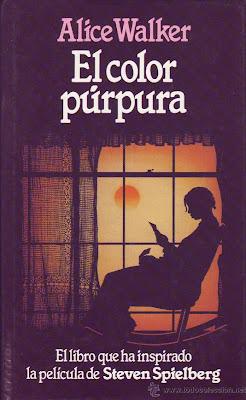 Resultado de imagen de el color púrpura libro