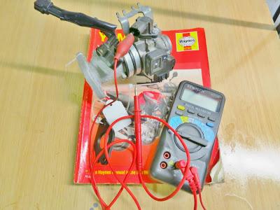 Yamaha YBR 125 Fast idle solenoid valve testing