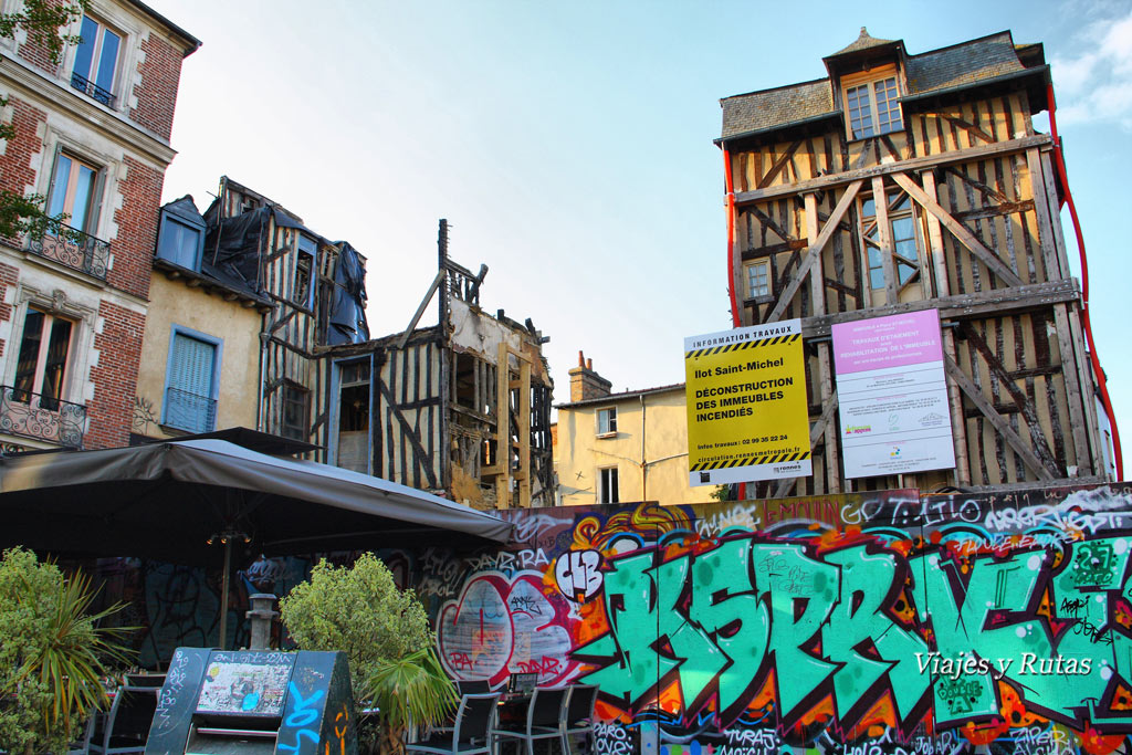 Plaza Sainte Anne, Rennes