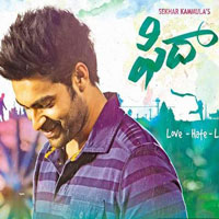 Fidaa (2017) Telugu Movie Audio CD Front Covers, Posters, Pictures, Pics, Images, Photos, Wallpapers