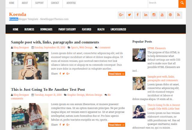 Koenda responsive Blogger theme                                                                                                                                                                                                                                                                                                                                                                                                                                                                                        http://blogger-templatees.blogspot.com/