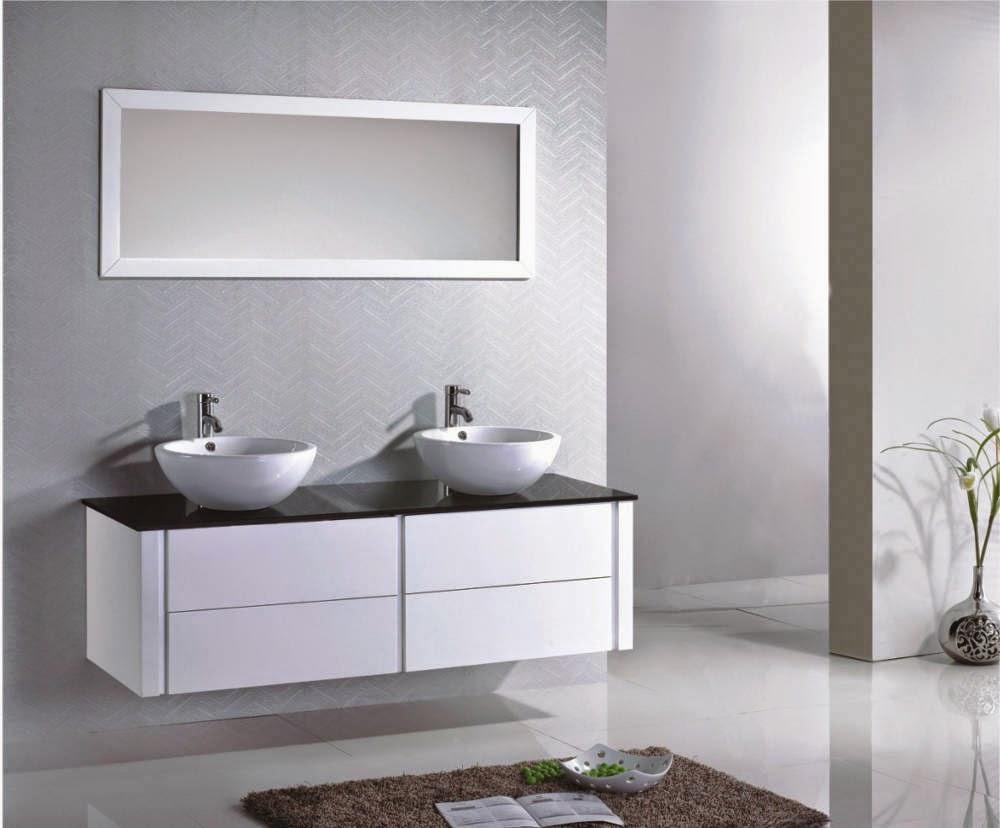 salle de bain vasques meuble